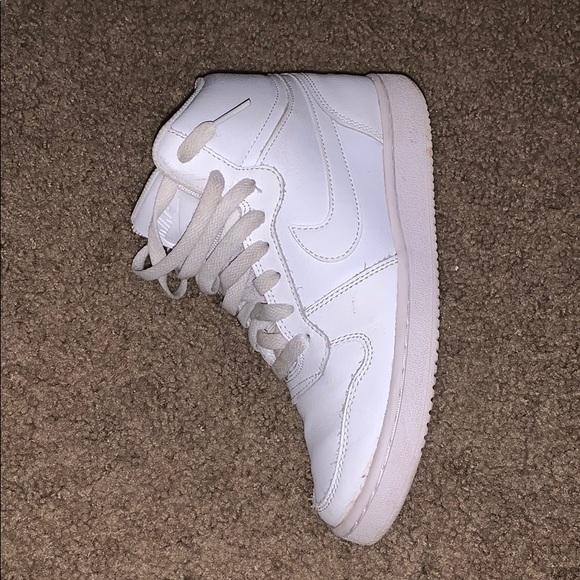Nike Shoes   Size 65 White Jordan High